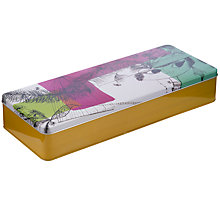 Buy John Lewis Raymond Lowey Hat Print Storage Tin, Multi Online at johnlewis.com