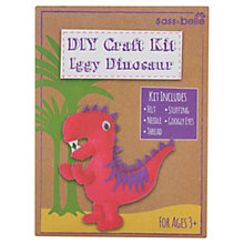 Buy DIY Iggy Dinosaur Craft Kit, Pink/Purple Online at johnlewis.com