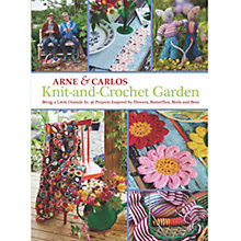 Buy Arne & Carlos Knit-And-Crochet Garden Book Online at johnlewis.com
