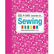 Buy A Little Course In.. Sewing Book Online at johnlewis.com