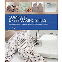Buy Complete Dressmaking Skills Book Online at johnlewis.com