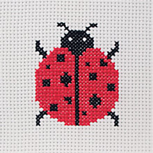 Buy Anchor Ladybird First Cross Stitch Kit Online at johnlewis.com