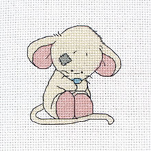 Buy Anchor Mouse First Cross Stitch Kit Online at johnlewis.com
