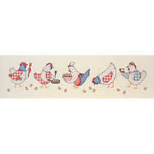 Buy Anchor Chickens Intermediate Cross Stitch Kit Online at johnlewis.com
