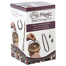 Buy Bijoux by Me Magic Bead Stringer Kit Online at johnlewis.com