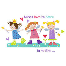 Buy Fairies in Wellies Cross Stitch Kit Online at johnlewis.com