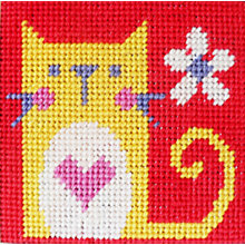 Buy Cat Children's Tapestry Kit Online at johnlewis.com