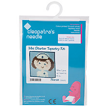 Buy Cleopatra's Needle Nurse Mini Starter Tapestry Kit Online at johnlewis.com