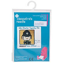 Buy Cleopatra's Needle Police Officer Mini Starter Tapestry Kit Online at johnlewis.com