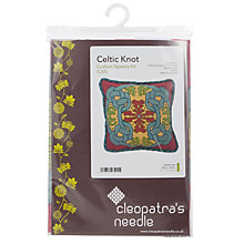 Buy Cleopatra's Needle Celtic Knot Cushion Tapestry Kit Online at johnlewis.com