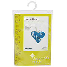 Buy Cleopatra's Needle Home Heart Tapestry Kit Online at johnlewis.com