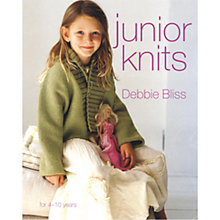 Buy Debbie Bliss Junior Knits Book Online at johnlewis.com