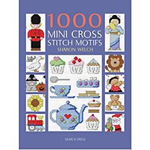 Buy 1000 Mini Cross Stitch Motifs Book Online at johnlewis.com