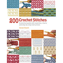 Buy 200 Crochet Stitches Book Online at johnlewis.com