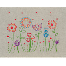 Buy Anchor Freestyle Flowers Beginners' Embroidery Kit Online at johnlewis.com