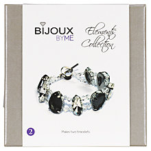 Buy Bijoux By Me Eternity Elements Bracelets Kit, Blue/Turquoise Online at johnlewis.com