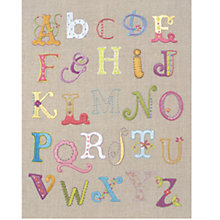Buy Anchor Freestyle Alphabet Embroidery Kit Online at johnlewis.com