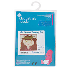 Buy Cleopatra's Needle Princess Mini Starter Tapestry Kit Online at johnlewis.com