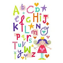 Buy Cross Stitch Fairy Alphabet Kit Online at johnlewis.com