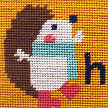 Buy Hedgehog Children's Tapestry Kit Online at johnlewis.com