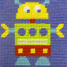 Buy Robot Children's Tapestry Kit Online at johnlewis.com