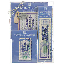 Buy Art Pewter Victorian Cross Stitch Lavender Gift Pack Online at johnlewis.com