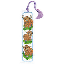 Buy Art Pewter Wee Hieland Coo Bookmark Cross Stitch Kit Online at johnlewis.com
