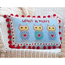 Buy The Historical Sampler Company What a Hoot Tapestry Kit Online at johnlewis.com