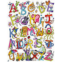 Buy Alphabet Fun Cross Stitch Kit Online at johnlewis.com