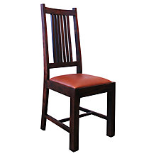 Buy John Lewis Maharani Leather Dining Chair Online at johnlewis.com