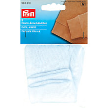 Buy Prym Elastic Cuffs, Pack of 2, White Online at johnlewis.com