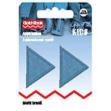 Buy Prym Iron On Triangle Patches, Pack of 2 Online at johnlewis.com