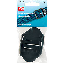Buy Prym Clamping Buckles, Black Online at johnlewis.com