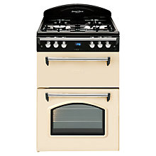Buy Leisure GRB6GVC Gas Cooker, Cream Online at johnlewis.com