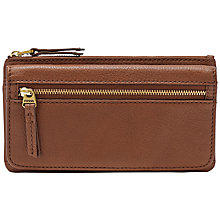 Buy Fossil Erin Leather Flap Purse Online at johnlewis.com