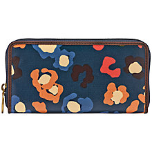 Buy Fossil Key-Per Zip Clutch Purse, Turquoise Online at johnlewis.com