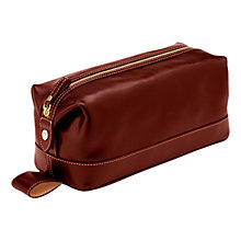 Buy Aspinal of London Men's Classic Leather Wash Bag Online at johnlewis.com