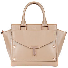 Buy Ted Baker Burally Leather Tote With Clutch Handbag Online at johnlewis.com