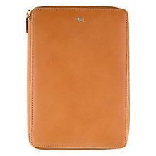 Buy Radley Blair Leather iPad Mini Cover, Tan Online at johnlewis.com