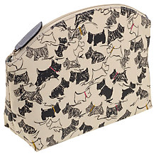 Buy Radley Doodle Dog Large Ziptop Cosmetic Case, Ivory Online at johnlewis.com