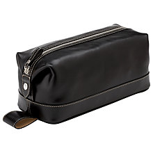 Buy Aspinal of London Men's Classic Leather Washbag Online at johnlewis.com