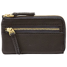 Buy Fossil Erin Zip Coin Leather Purse Online at johnlewis.com