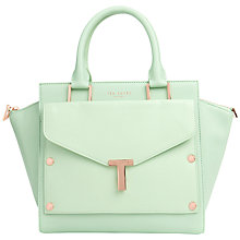 Buy Ted Baker Burally Leather Tote With Clutch Bag Online at johnlewis.com