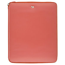 Buy Radley Blair Leather iPad Cover, Pink Online at johnlewis.com