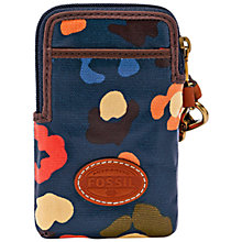 Buy Fossil Keyper Carry All Case, Turquoise Online at johnlewis.com