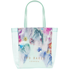 Buy Ted Baker Sweecon Small Shopper Bag, Pale Green Online at johnlewis.com