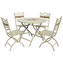 Buy Leisuregrow Claremont 4-Seater Bistro Set Online at johnlewis.com