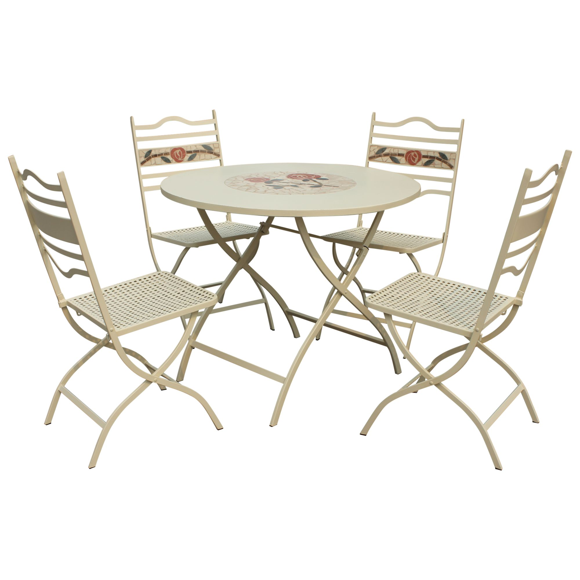 Leisuregrow Claremont 4-Seater Bistro Set