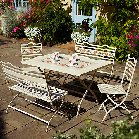 Buy Leisuregrow Claremont Dining Table with Chairs and Benches Online at johnlewis.com