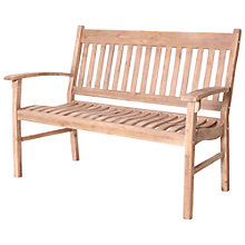 Buy LG Outdoor Hanoi 2 Seat Slatted Bench Online at johnlewis.com